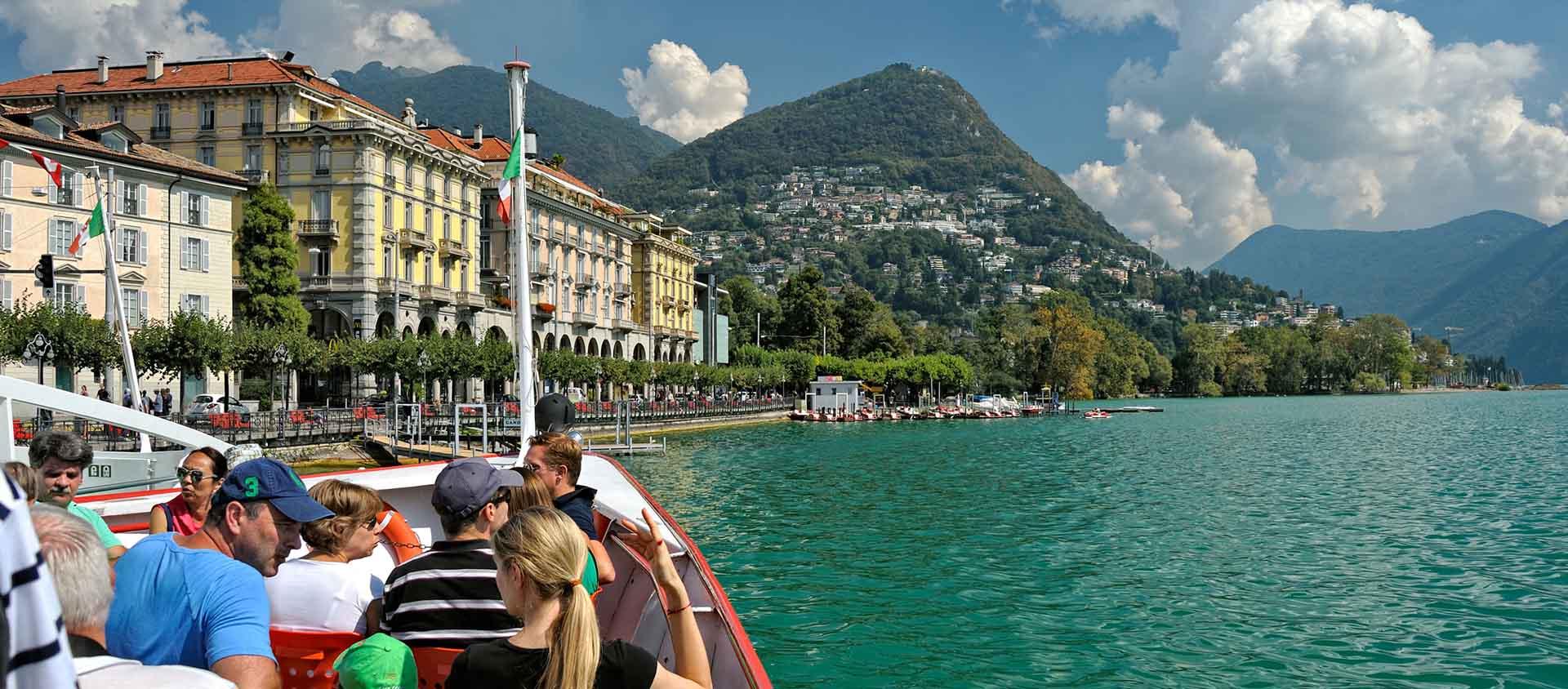 Lugano Italien