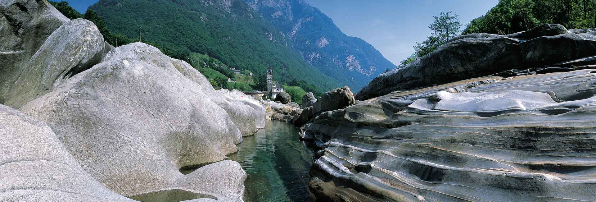 Reiseziel Tessin Berge