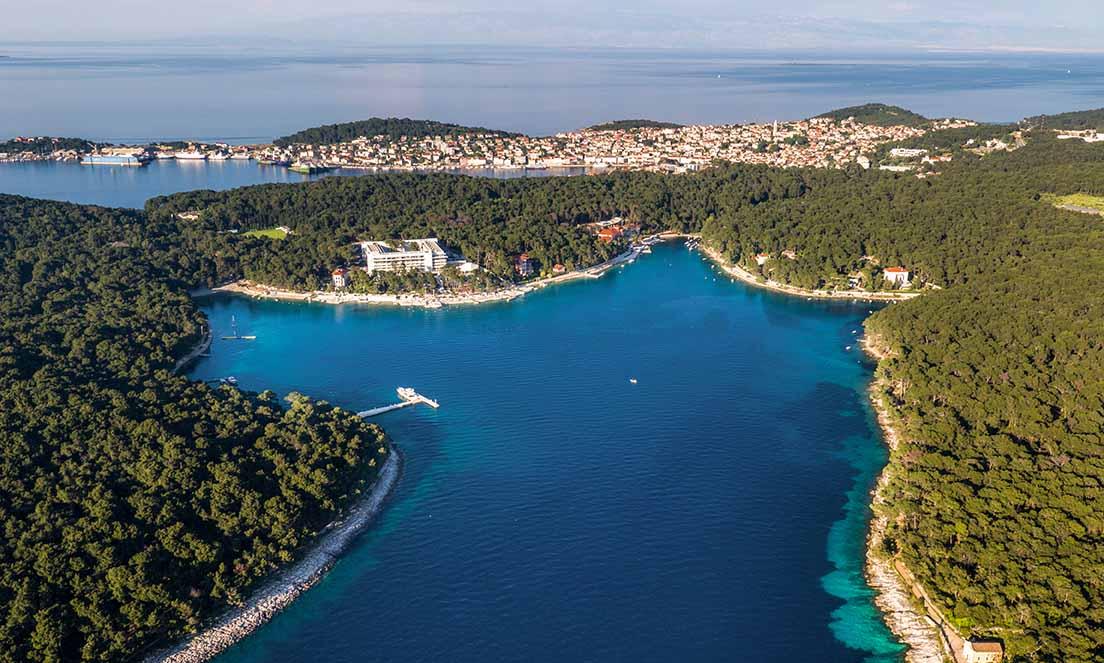 Kroatien tiefblauen Adria