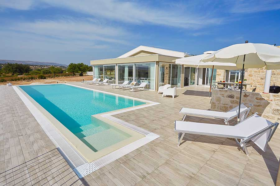 Sizilien – Traumhafte Ferien Villa mit Pool in Scicli Ragusa